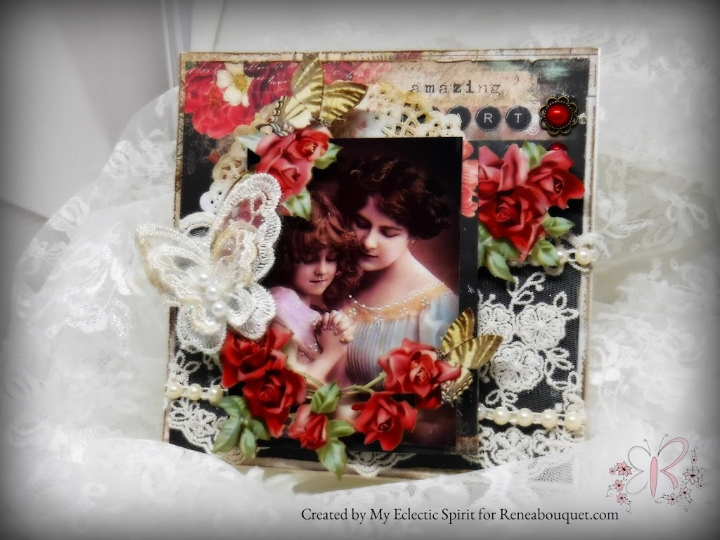 Reneabouquet Vintage Mother's Day Card