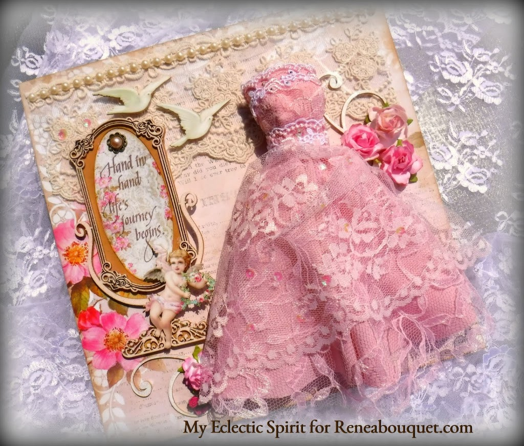 Reneabouquets Wedding Shadow Box