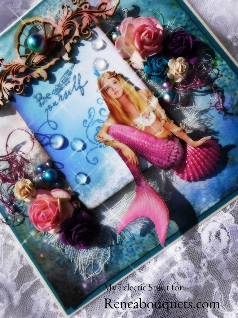 Be Yourself – Mermaid Fantasy for Reneabouquets