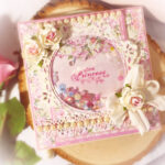 Little Princess- Welcome Baby Girl Shaker Card & Gift Box