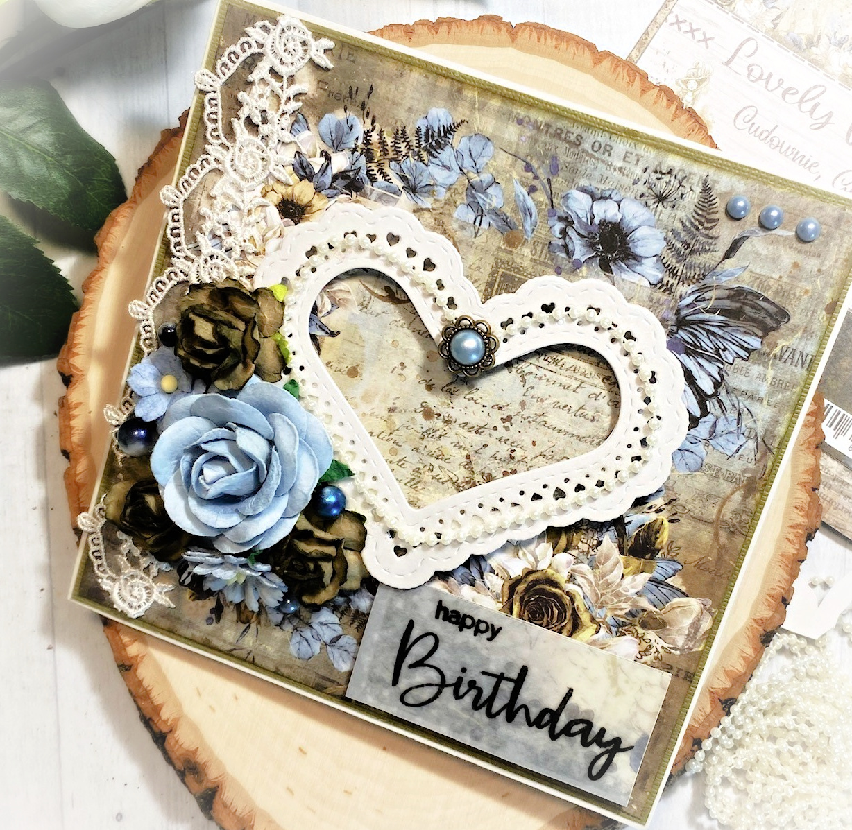 "Happy Birthday Gift Card-Craft O'Clock – ""Lovely When You Smile"""